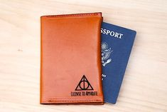 Harry Potter Passport Holder Travel License To Apparate