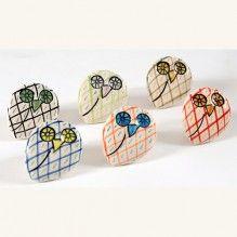 Bouton de meuble Hibou, 6 couleurs disponibles