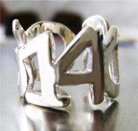 Custom Anniversary Date Ring
