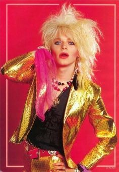 Photo of Michael Monroe for fans of Hanoi Rocks.