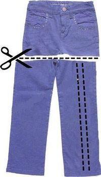 Como hacer un bolso de tela de jeans (Pantalón vaquero viejo ...