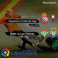Confere os prognósticos para a Liga BBVA...  http://www.apostaganha.com/2016/04/19/prognostico-apostas-espanyol-vs-celta-vigo-liga-bbva-9/  http://www.apostaganha.com/2016/04/19/prognostico-apostas-betis-vs-las-palmas-liga-bbva44/  http://www.apostaganha.com/2016/04/19/prognostico-apostas-espanyol-vs-celta-vigo-liga-bbva-2/  http://www.apostaganha.com/2016/04/19/prognostico-apostas-betis-vs-las-palmas-liga-bbva-21/  200 euros de bônus, cashout e um dos melhores live. Conheça a 10bet…