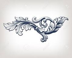 Image result for wood carving scroll patterns