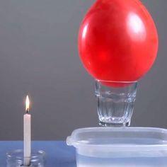 Experimentos sencillos. Experimentos para niños. Ciencia divertida. Hacer un globo fuerte. Comprobar la fuerza de un globo. Experimentos con globos para que los niños aprendan ciencia de forma divertida