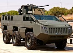 """Paramount """"Mbombe-6"""" ACV/AFV. Wheeled Armoured Infantry Combat Vehicle, Personnel Carrier and Infantry Fire Support Vehicle from South Africa."""