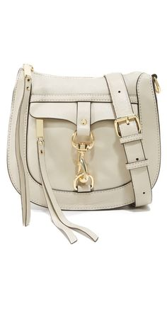 Rebecca Minkoff Dog Clip Saddle Bag | SHOPBOP
