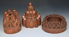 Victorian jelly moulds