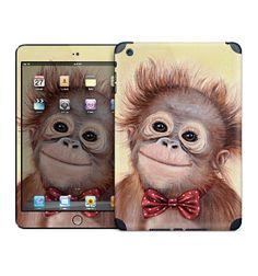 Monkey iPad skin for iPad Mini/Retina iPad 2nd 3rd by MimoCadeaux, $50.00