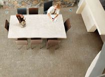 Karst tiles come in neutral sand, grey and white colours - each with a matching mosaic.
