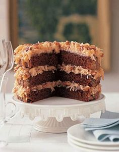 German Chocolate Cake ... my mom made the BEST!!!