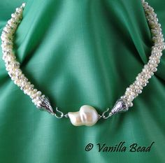 Kumihimo Pearl Necklace