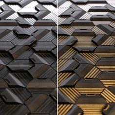 Hexagonal concrete/wood tiles model 02, Stanislav Mikhailov on ArtStation at https://www.artstation.com/artwork/2QxbK