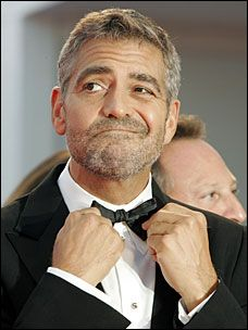 """The only failure is not to try."" - George Clooney"
