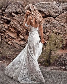 27 Bohemian Wedding Dress Ideas You Are Looking For ❤ bohemian wedding dress sheath rustic beach rue de seine #weddingforward #wedding #bride