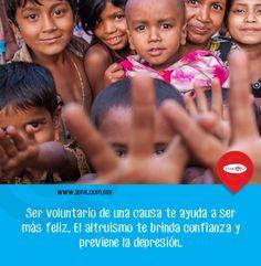 El altruismo es bueno para otros y para tu #salud y #bienestar.  http://lemi.com.mx