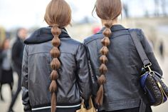 MODELS JAM: Valentino hairstyle, Paris, March 2014