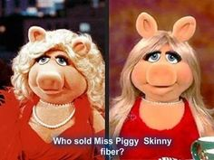 Who got Ms. Piggy on the Skinny 90 Day Challenge? You can start today too! http://ubskinnychallenge.com/