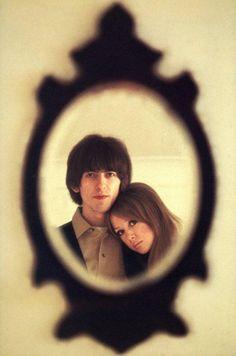 George Harrison & Pattie Boyd