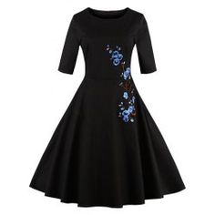 SHARE & Get it FREE   Floral Embroidered Semi Formal DressFor Fashion Lovers only:80,000+ Items • FREE SHIPPING Join Twinkledeals: Get YOUR $50 NOW!