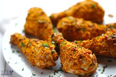Sweet Potato Chip Chicken   gimmesomeoven.com