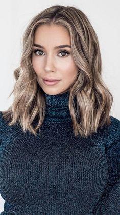 40+  Stylische und Modische Haarfarben und Frisuren Ideen   #