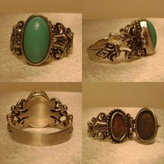 poison rings - I have several, and just love them.