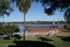 Fronteira Uruguai com Argentina - Salto, Uruguai.
