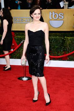 A little too casual for the red carpet love. Jessica Chastain, Anne Hathaway, Claire Danes, and More at the 19th Annual Screen Actors Guild Award