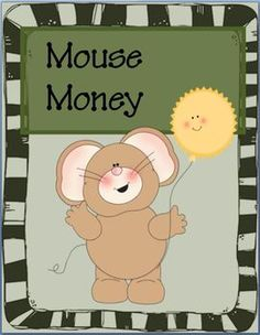 """FREE Mouse Money: Play Money for the Classroom~ Cute and ready-to-use """"money"""" for economics lessons, games, or incentive programs. Print, chop, and go!  #play #money"""