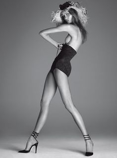 Body By Kloss  Photographer: Steven Meisel  Model: Karlie Kloss  Vogue Italia December 2011  Visit: Vogue.it