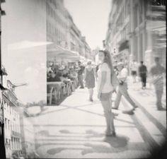 """""""Una magnifica giornata d'estate, soleggiata e ventilata, e Lisbona sfavillava"""" (Rua Augusta, Lisbona). 2° riscatto urnano di Silvia Silvestri. Saranno conteggiati i """"mi piace"""" al seguente post: https://www.facebook.com/photo.php?fbid=10204320248468613&set=o.170517139668080&type=3&theater"""