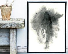 Scandinavian Art Abstract Art Print  Art Print Circle