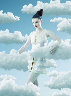 The Look: René Magritte-inspired fashion editorial for Madriz magazine. By Fernando Maselli Photography Editing, Photography Photos, Beauty Photography, Creative Photography, Fashion Photography, Photography Tutorials, Digital Photography, Creative Portraits, Creative Photos