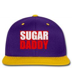 sugar daddy embroidery Snapback