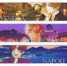 Because Feliciano represents Venice (Regno Lombardo-Veneto), and Lovino represents Naples (Regno di Napoli), not Rome. Rome is a gift from his grandpa. (Even though we call him Romano all the time.)