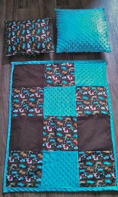 My DIY Homemade Baby Quilt with Minky Lining... :) www.theblossomingbump.com