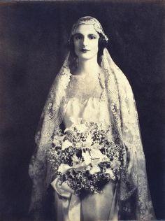 Vintage Bride, Circa 1920s-1930s, Credit: Library of Congress