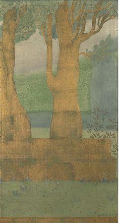 Constant Montald, Deux arbres