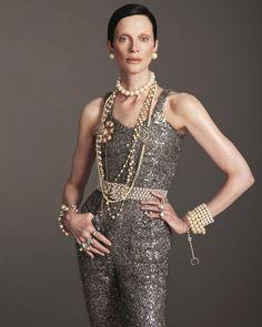 "Zackylicious on Instagram: ""#Vogue UK #Model : @kristen_mcmenamy Wearing #Chanel Couture 📷 : @mertalas @macpiggott #magazine #editorial #instagood #Instafashion…"""