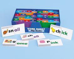 Word Family Flip Books #LakeshoreDreamClassroom