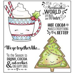 These clear photopolymer stamps come on a backing sheet measuring approximately x 4 inches. Christmas Card Crafts, Christmas Quotes, Christmas Graphics, Christmas Tag, Christmas Ornaments, Cat Cookies, Puff Paint, Happy Song, Stationery Craft
