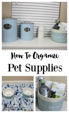 More Than 44 How To Organize Pet Supplies cómo organizar suministros para mascotas wie organisiere ich tierbedarf? come organizzare articoli per animali domestici Dog Training Methods, Basic Dog Training, Dog Training Techniques, Training Dogs, Dog Organization, Pet Food Storage, Storage Ideas, Puppy Supplies, Small Pet Supplies