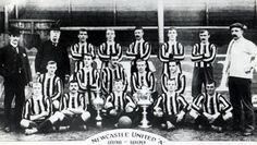 Newcastle United Football Club, 1898/99, primera temporada en primera división.