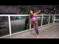 MICHELLE LEWIN Workout - No Gym No Problem (Shoulders/Triceps) - YouTube