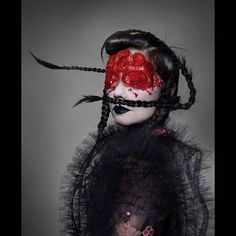 See all the images from Nick Knight and Katy England& cover story for AnOther Magazine S& 16 featuring Bjork in masks by Peter Philips Foto Fashion, Fashion Art, Fashion Beauty, Live Fashion, Future Fashion, Nick Knight Photography, Dani Olivier, Julia Davis, The Wicked The Divine