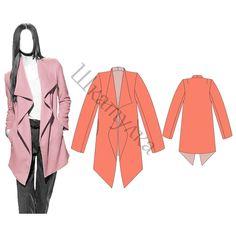 Pattern summer coat, jacket