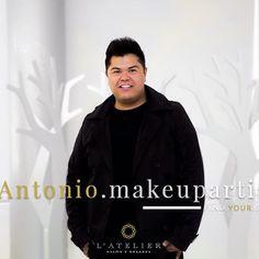 Agenda tu cita con nuestro experto Antonio Alfaro 💕Te encantará el resultado! Citas al 36404799  #FindYourStyle #Latelier #makeup #artist #gdl