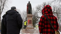 Sir John A. Macdonald statue vandalized on 1st PM's 198th birthday