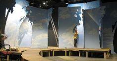 //BROADWAY FLAT 5// - //BROADWAY FLAT 5// These types of flats are used for live theater performances and Broadway shows. --- #Theaterkompass #Theater #Theatre #Schauspiel #Tanztheater #Ballett #Oper #Musiktheater #Bühnenbau #Bühnenbild #Scénographie #Bühne #Stage #Set