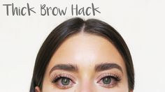 Ever wanted thick natural looking brows? This super easy hack will give you the most think and bushy eyebrows! The soap brow technique is a quick and super c...